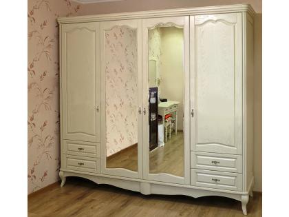 Шкаф Изабелла 4-дверный