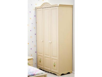 Шкаф 3-дверный Романтик