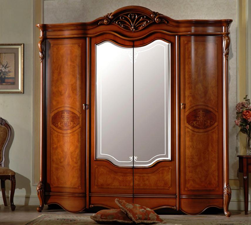 Шкаф 4-дверный 8660