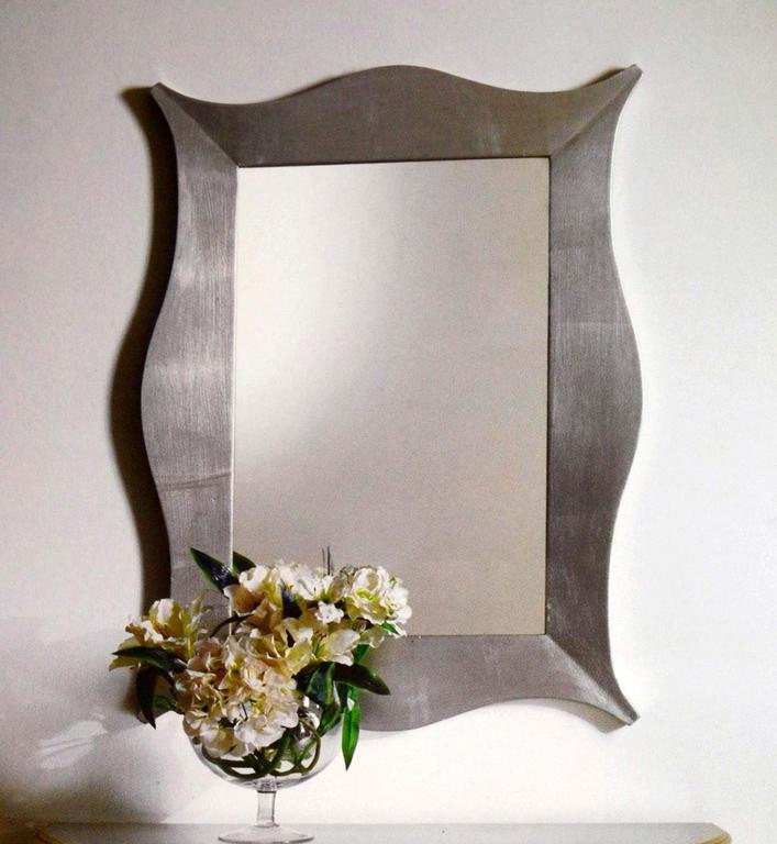Зеркало 900 Галимберти серебряное