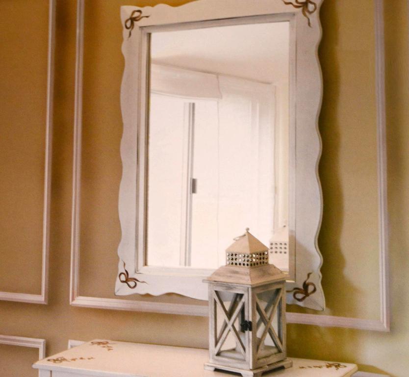 Зеркало Галимберти 970 белое