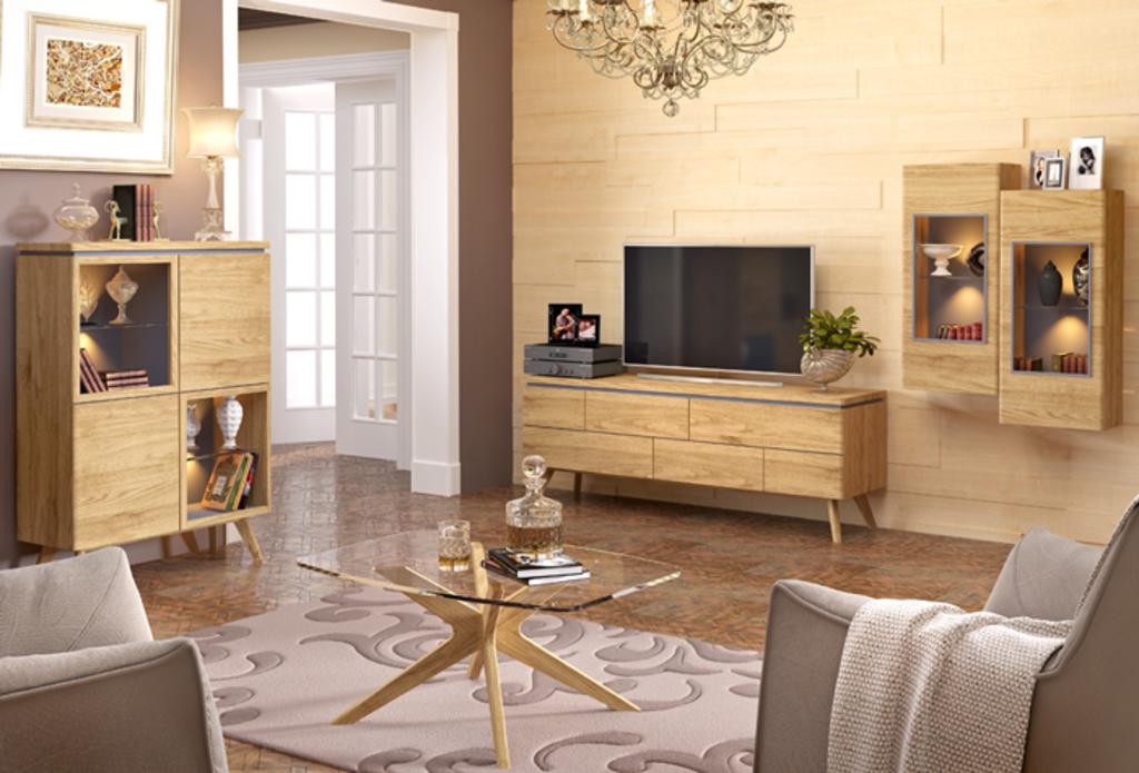 Мебель Модеста дубовая