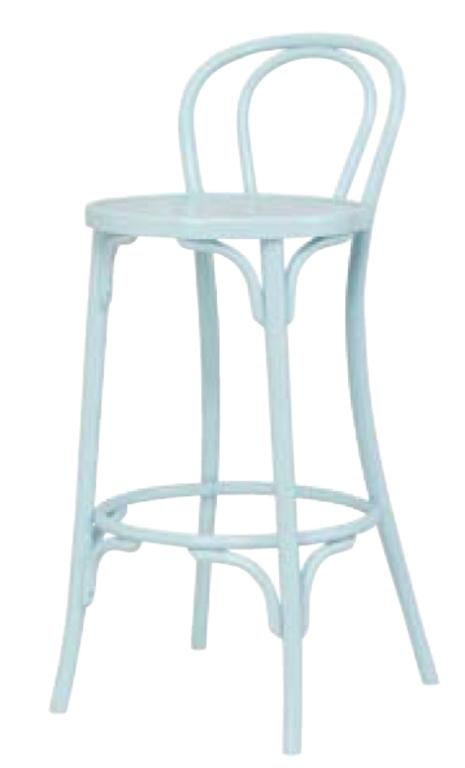 Барный стул Мерлин 750 мм с твёрдым сидением