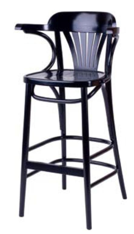 Барное кресло Дублин 750 мм с твёрдым сидением