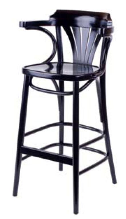 Барное кресло Ирландия 750 мм с твёрдым сидением