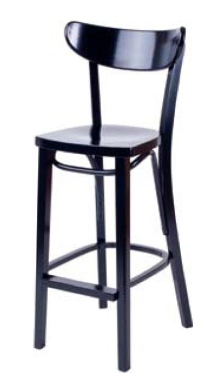 Барный стул Прайм 750 мм с твёрдым сидением