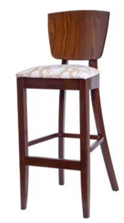 Барный стул Джаз 760 мм с мягким тканевым сидением