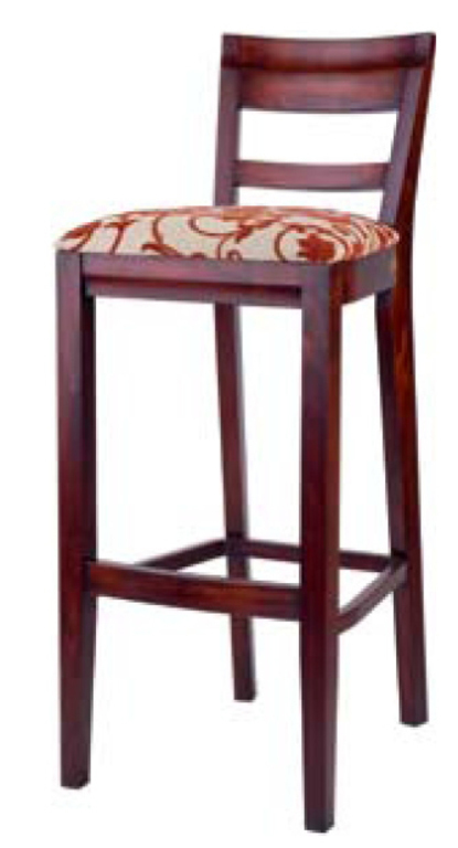 Барный стул Поль 760 мм с мягким тканевым сидением