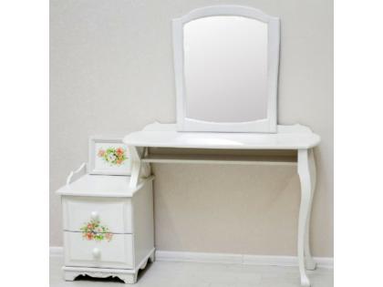 Туалетный столик Романтик с тумбой