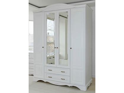 Шкаф 4-х дверный Лаванда