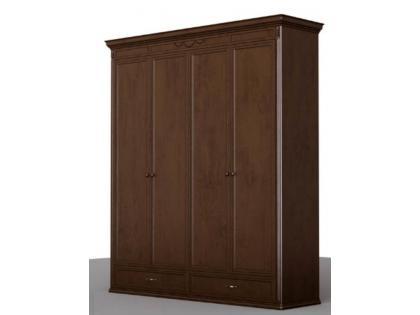 Шкаф 4-х дверный Нормандия