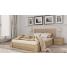 Кровать Селена натуральный бук