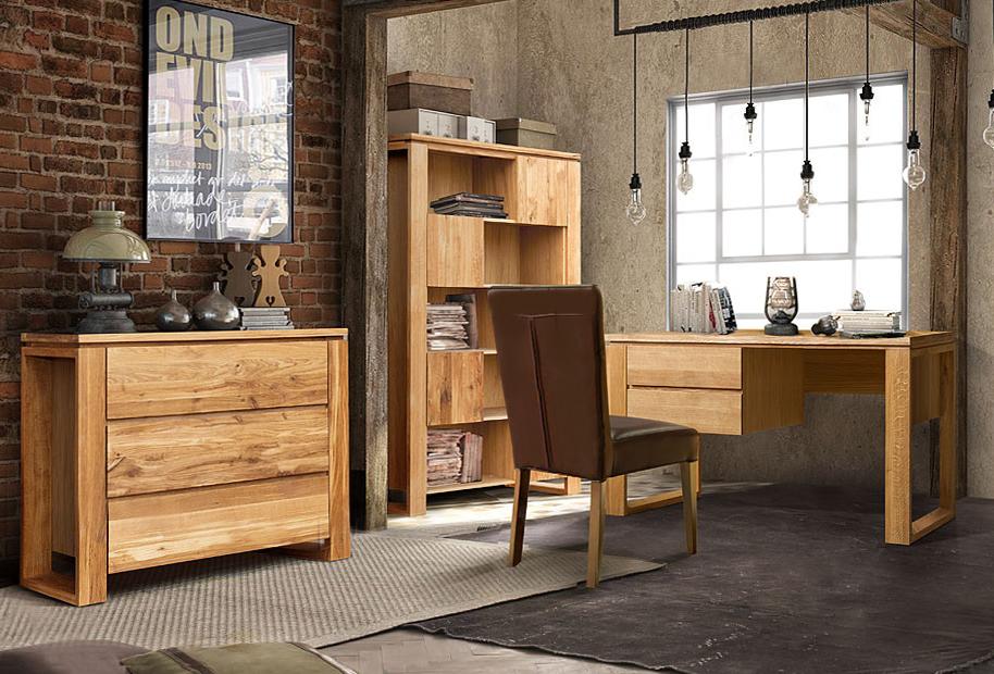 Домашний кабинет в стиле Лофт